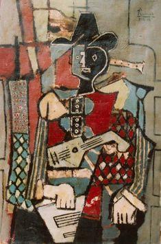 Pablo Picasso - 1918 Arlequin1