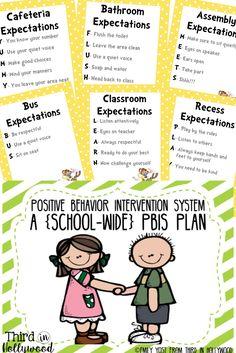 School wide pbis plan! Posters, PowerPoint, Parent letters, etc!