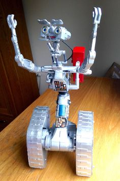 Johnny five customised Toy