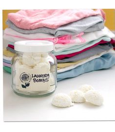 DIY All-In-One Laundry Bombs - Love This Stuff! Laundry Doesn't Have To Be A Chore!