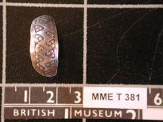 Viking, Silver Finger-ring, Bolton, East Yorkshire, Treasure, MMET381,Centre