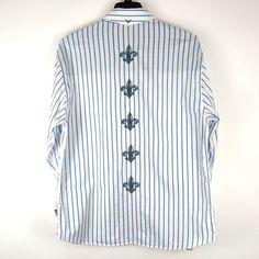 dab407265ca Fender Custom Shop Rock Roll Religion Embroidered Shirt Mens XL