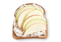 Honey- Nut Spread  Finely chop 1/2 cup toasted pecan halves. Combine with 8 oz. softened cream cheese and 1 1/2 T honey. Spread over your favorite bread and top with thinly sliced apples.