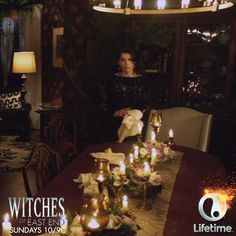 #HappyThanksgiving from the #WitchesofEastEnd! Now if only we could let you in o...