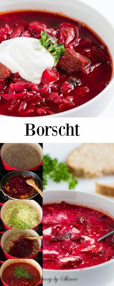 Classic beef borscht recipe that you& come back to over and over again. CLICK Image for full details Classic beef borscht recipe that you& come back to over and over again. Simple ingredients, classic me. Beet Recipes, Polish Recipes, Soup Recipes, Cooking Recipes, Polish Food, Dinner Recipes, Ukrainian Recipes, Russian Recipes, Ukrainian Food