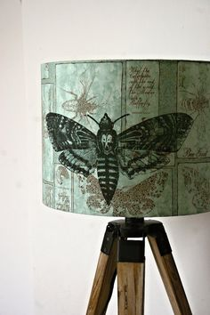 I like this moth lampshade... Even though it reminds me of The Silence of the Lambs.