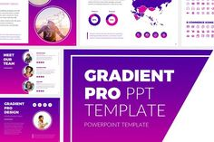 Gradient Pro PowerPoint Template @creativework247