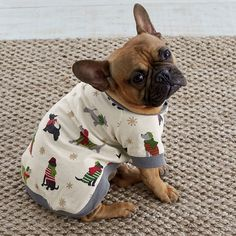 Matching Family Pajamas – Furry Flurries Dog Sleepwear