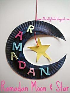RAMADAN & ID-UL-FITR: Ramadan Moon & Star Tutorial - A Crafty Arab