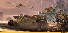 Warhammer 40000,warhammer40000, warhammer40k, warhammer 40k, ваха, сорокотысячник,фэндомы,Emperor's Warbringers,Space Marine,Adeptus Astartes,Imperium,Империум,Scout Squad,Devastator Squad,Dreadnought,Akshay Misra