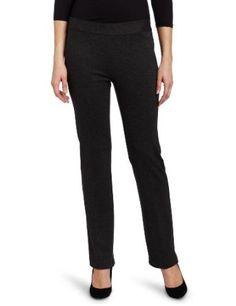 Chaus Women's Slant Pocket Pull On Pant, Dark Heather Grey, X-Large Chaus. $69.00