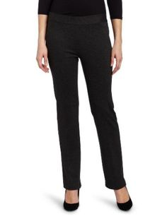 Chaus Women's Slant Pocket Pull On Pant, Dark Heather Grey, X-Large Chaus. $69.00