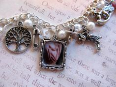 Mom-To-Be Personalized Keepsake Charm Bracelet Pregnant Gift