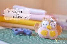 Quer praticar fazendo a corujinha do vídeo? Acesse o blog da Boutique D'Caroline: atelierdcaroline.blogspot.com.br --------------------------------------- ww...
