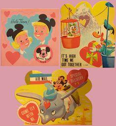 old Disney Valentines Disney Valentines, My Funny Valentine, Vintage Valentine Cards, Vintage Cards, Valentine Stuff, Valentine Images, Valentine Party, Valentine Ideas, Old Disney