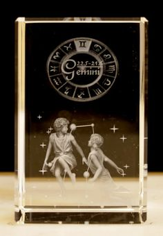 Buy Laser Crystal -Gemini wholesale at ancientwisdom.biz Wholesale Star Sign Laser Blocks Wholesale Star Sign Laser Blocks.Each Laser Crystal is beautifully packed in a presentation box. The clarity and quality is about the best we have seen.You can tell the grade of the laser etching by how small the dots are - the smaller the dots the better the detail - it all adds to the magic.