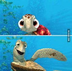 Me watching Finding Nemo vs watching Finding Dory