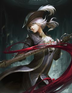 Lady Maria,BB персонажи,BloodBorne,Dark Souls,фэндомы,Huang Jing