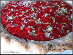 K is for Key Lime and Raspberry Pie!