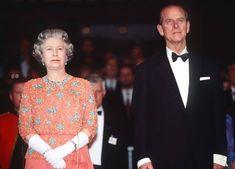 1992 The Queen wears an embellished orange gown during her state visit to Germany with Prince Philip. Elizabeth First, Princess Elizabeth, Queen Elizabeth Ii, Hm The Queen, King Queen, Kate Middleton Shoes, Orange Gown, The Way He Looks, Handsome Prince