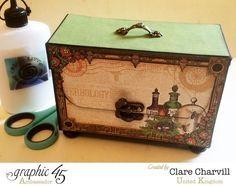 Rare Oddities ATC Box Clare Charvill Graphic 45 1