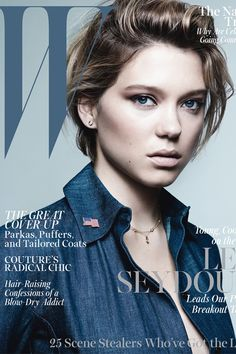 Indie Queen L�a Seydoux Gets A Cover-Worthy Haircut #Refinery29
