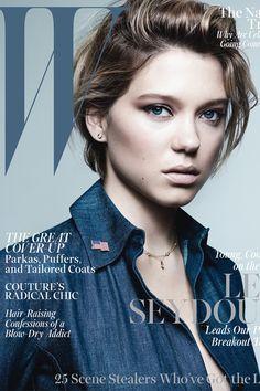 Léa Seydoux on W Magazine <3
