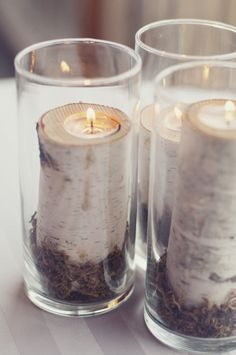Bring birch into your home with these beautiful DIY candles