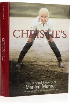 Assouline Books|Vintage The Personal Property of Marilyn Monroe by Christie's New York hardcover book|NET-A-PORTER.COM - StyleSays