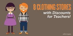 8 Clothing Stores with Discounts for Teachers