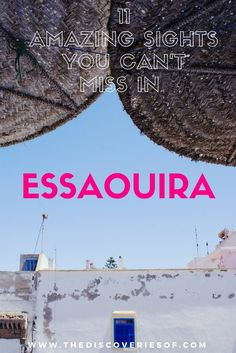 Space Guide Essaouira Travel Guide - Things to do in Essaouira, Morocco - Famed as one of Morocco's most likeable destinations and perfect for a short break. Explore the top things to do in Essaouira on your next trip. Travel Advice, Travel Guides, Travel Tips, Travel Hacks, Morocco Travel, Africa Travel, Marrakech Travel, Visit Morocco, Spain Travel