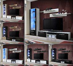 Ebay Angebot Wohnwand Anbauwand Wohnzimmer Schrankwand GALINO A Hochglanz LED Beleuchtung TOPIhr QuickBerater