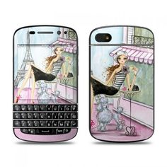 Cafe Paris BlackBerry Q10 Skin