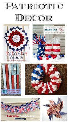 Patriotic Decor Round-Up on Kleinworth  Co.