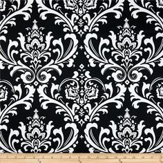 Premier Prints Ozborne Black/White from @fabricdotcom  Screen printed on cotton duck; this versatile medium weight fabric is perfect for window treatments (draperies, valances, curtains and swags), toss pillows, bed skirts, duvet covers, slipcovers, upholstery and other home decor accents. Get creative with tote bags and aprons, too! Colors include black and white.