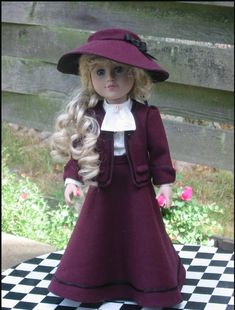 Kish Tights Unitard and Hat for 5/'/' dolls New