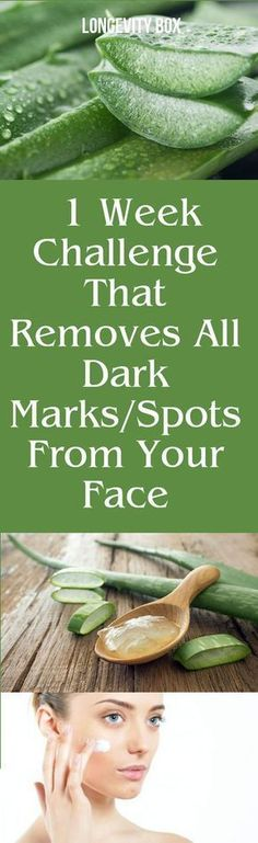1 week challenge that removes all spots from your face