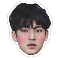 Buy 'Mingyu Seventeen' by interludewings as a Sticker, Transparent Sticker, or Glossy Sticker