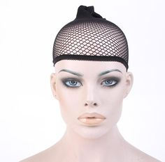 [Visit to Buy] 1PC Hairnet Stocking Wig Cap For Unisex Making Hair Stretch Lace Wigs With Stretchable Elastic Adjust Hairnets Cap  #Advertisement