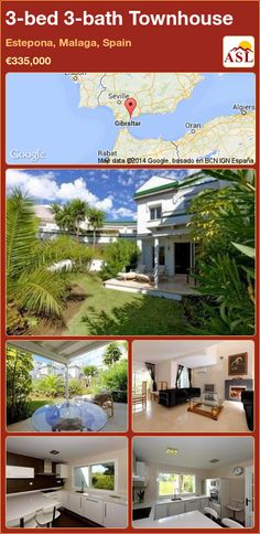 3-bed 3-bath Townhouse in Estepona, Malaga, Spain ►€335,000 #PropertyForSaleInSpain