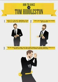 How To Dance like Tom Hiddleston #1