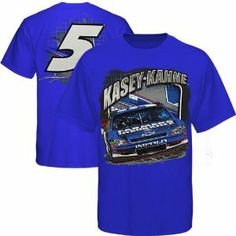 NASCAR Checkered Flag Kasey Kahne Youth Name and Number T-Shirt - Royal Blue (Small) by Football Fanatics. $19.95. Tagless collar. Screen print graphics on front and back. 100% Cotton. Checkered Flag Kasey Kahne Youth Name and Number T-Shirt - Royal BlueImported100% CottonTagless collarOfficially licensed Kasey Kahne teeScreen print graphics on front and back100% CottonScreen print graphics on front and backTagless collarImportedOfficially licensed Kasey Kahne tee