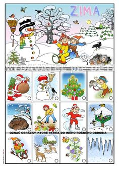 Winter Activities For Kids, Educational Activities For Kids, Preschool Learning, Cartoon Sun, Hedgehog Craft, First Grade, Winter Craft, Classroom, Seasons