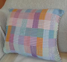 Ravelry: spinningdebs' Woven Cushion Cover