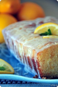 Meyer lemon cake