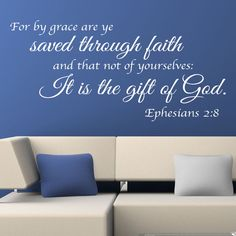 Christian quote vinyl wall art stickers god lord bible religious decals b7