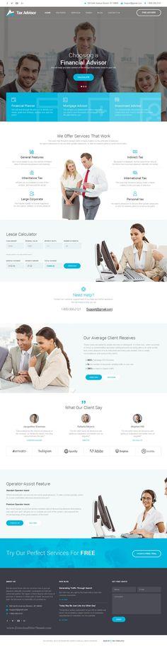 Finance Guru - Consulting Business, Finance HTML5 Template