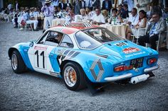 Photo gallery, winners and results from Concorso d'Eleganza Villa d'Este held May at Grand Hotel Villa d'Este on Lake Como in Cernobbio, Italy. Alpine Renault, Renault Sport, Alpine Car, Megane Rs, Rally Car, Custom Cars, Concept Cars, Cars And Motorcycles, Cool Cars