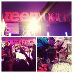 Everyone's loving @iconapop (and the decor!) at the @teenvogue party #RZFW - @thezoereport- #webstagram