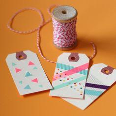 DIY Tape & Vintage Tags - Medium | BLANKGOODS.com.au :: super cute retro stationery, packaging, supplies & DIY inspiration